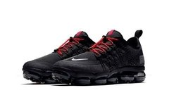 Tênis Nike Air VaporMax Run Utility Black Red na internet