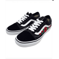 Tênis Vans Old Skool Black Rose - comprar online