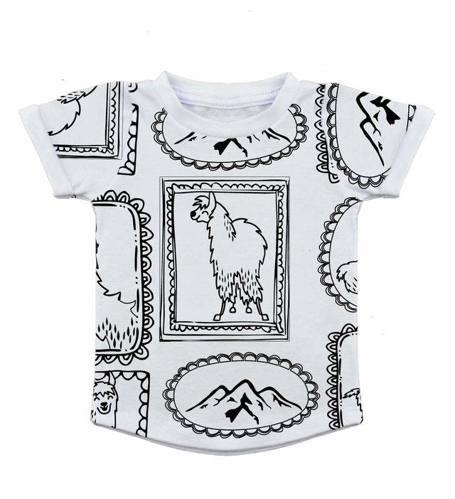 Camiseta - Mullet - Lhama 5f77a66796e