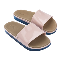 Chinelo Melissa Beach Slide Next Gen Rosa/Azul