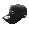 New Era 9Forty A-Frame Simple Signature NYC Fluor Preto/Rosa
