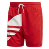 Shorts Adidas Big Trefoil Swim Lush Red