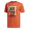 Adidas Club Pillars Tee Glory Amber