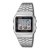 Casio Vintage Digital Prata/Preto