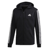 Moletom Adidas French Terry Must Haves 3 Stripes Black-White