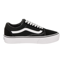 Tênis Vans Old Skool Platform Black/White