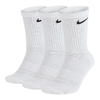 Nike Everyday Cushioned Crew  3 Pares Branco