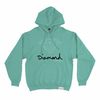 Moletom Diamond OG Sign Hoodie Diamond Blue