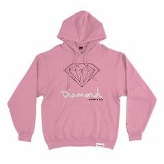 Moletom Diamond OG Sign Hoodie Pink