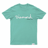 Diamond OG Script Tee Diamond Blue