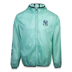 Corta-Vento New Era New York Yankees Colored Wave Verde