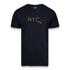 Camiseta New Era New York City Fluor Simple Letter