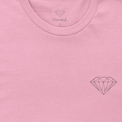 Camiseta Diamond Brilliant Tee Pink na internet