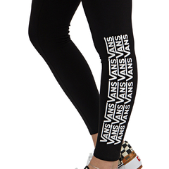Legging Vans Chalkboard Fair Well Preta na internet
