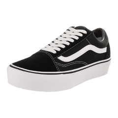 Tênis Vans Old Skool Platform Black/White - Phyton Shop