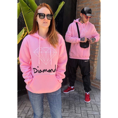 Moletom Diamond OG Sign Hoodie Pink - Phyton Shop