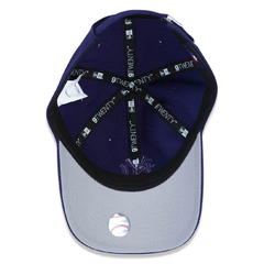 New Era 9Twenty New York Yankees Strapback Purple Tonal - loja online