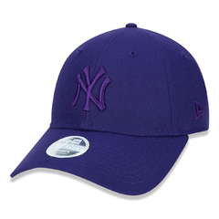 New Era 9Twenty New York Yankees Strapback Purple Tonal