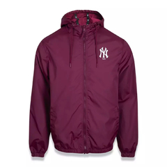 Corta-Vento New Era New York Yankees Windbreaker MLB Bordô