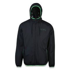 Corta-Vento New Era NYC Fluor Windbreaker Packable Preto