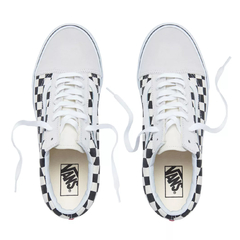 Vans UA Old Skool Checkerboard White/Black - comprar online