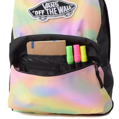 Mochila Vans Realm Backpack Aura Wash Black na internet