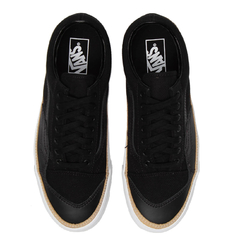 Tênis Vans Old Skool Overply Era Vamp Black/White na internet