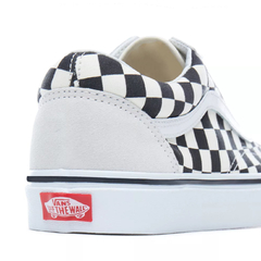 Imagem do Vans UA Old Skool Checkerboard White/Black