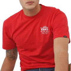 Camiseta Vans Holder St Classic Red na internet