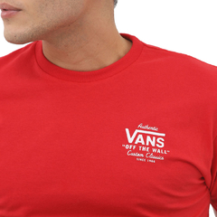 Camiseta Vans Holder St Classic Red - Phyton Shop