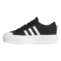 Tênis Adidas Nizza Platform Core Black/Cloud White na internet