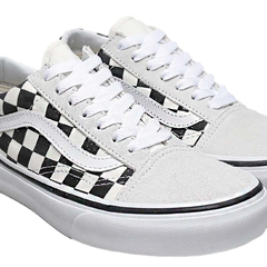 Tênis Vans UA Old Skool Checkerboard White/Black - comprar online