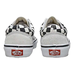 Tênis Vans UA Old Skool Checkerboard White/Black na internet