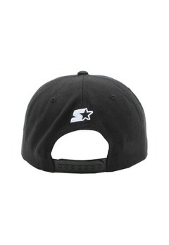 Boné Aba Curva Compton Preto 5 Panels - Original - HB Point