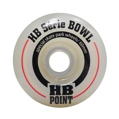 Roda Skate Bowl 60mm Hb Series Original+ Rolamento - HB Point