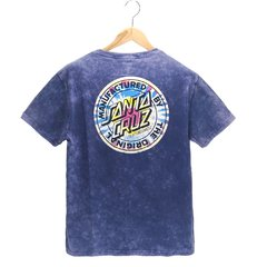 Camiseta Santa Cruz Classic Dot Estonada Azul - HB Point