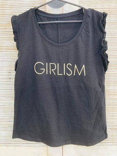 Musculosa volados Girlism