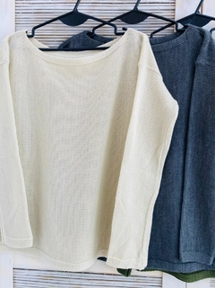 Sweater cuello bote (T. Aprox: XL/XXL) en internet