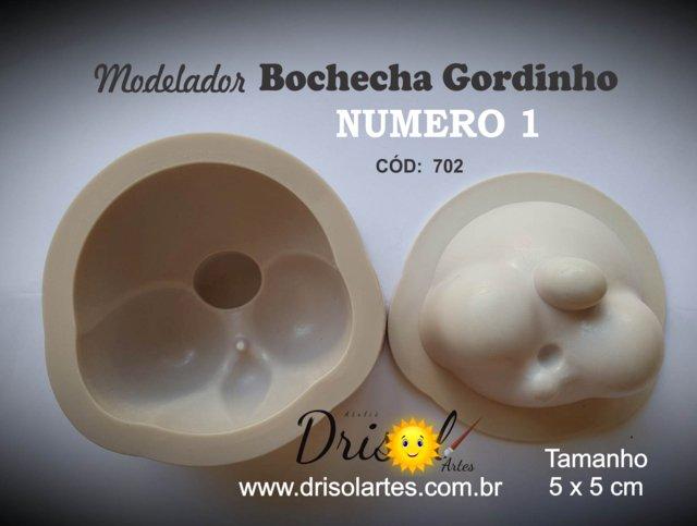 Modelador de resina Bochecha Gordinho nº 01 (pequena) - cód  702 1f0e302a52