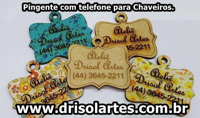 Comprar Pingentes em Drisol Artes  Acrilico Prata   Filtrado por ... e8da5503d5