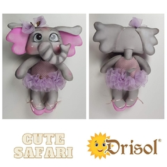 Kit Cute Safari - Lote 4 - Drisol Artes