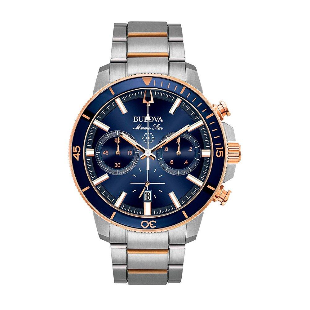 ea3566f9edbb Reloj Bulova Marine Star 98B301 Hombre - Bianchi Bones