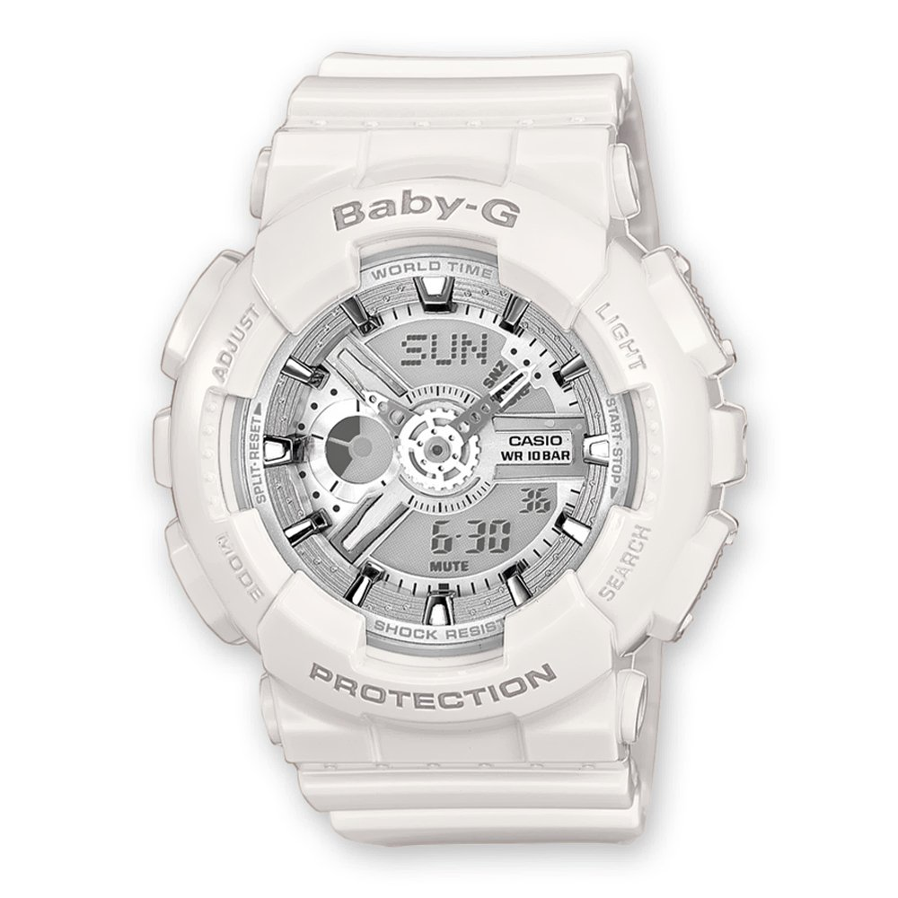 add7ef49b7b2 Reloj Casio BA-110-7A2DR Baby-G G-Shock Blanco Unisex
