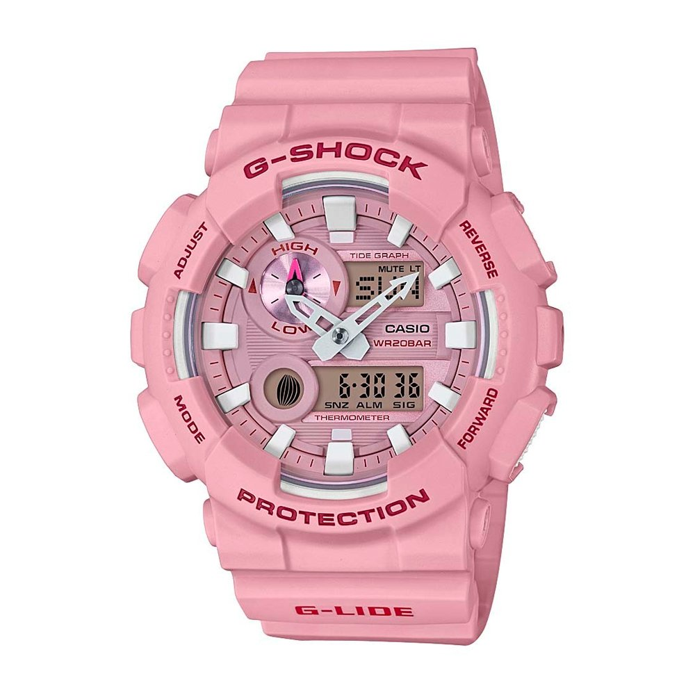 34d8f583ba5f Reloj Casio G-SHOCK GAX-100CSA-4A G-LIDE Mujer