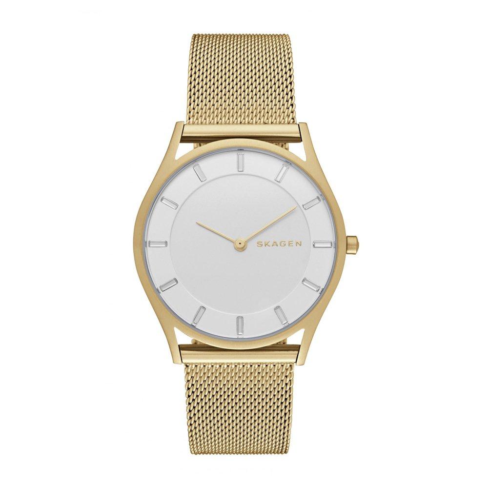 12622b64b6f1 Reloj Skagen Holst SKW2377 Dorado Cristales Mujer