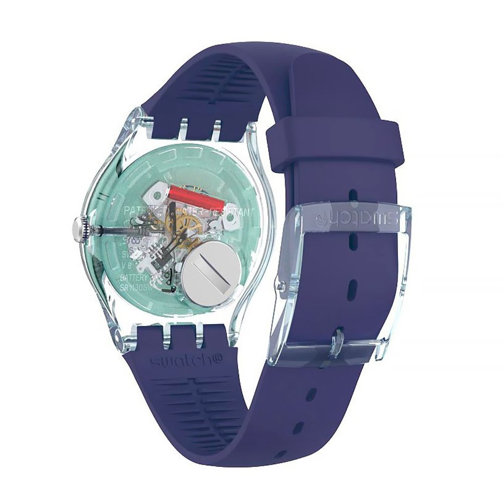 Swatch Polapurple Mujer Polapurple Mujer Swatch Reloj Reloj IHY9WDE2