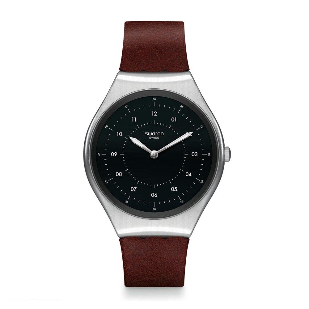 60366a1c02c5 Reloj Swatch SKINBRUSHED Unisex - Bianchi Bones