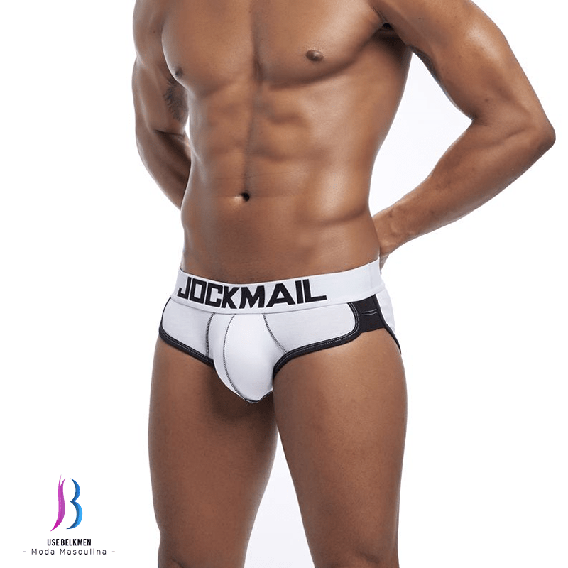 e323e7dff Jockmail - Cueca boxer Jockmail com preenchimento na bunda ...