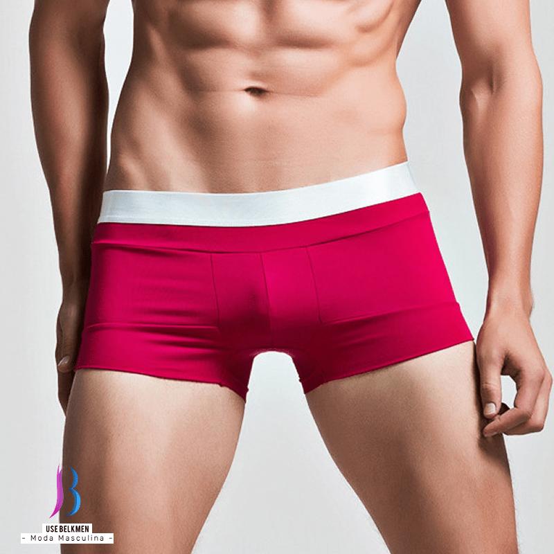 35c47396a Cueca boxer de algodão de alta qualidade que se ajusta ao corpo