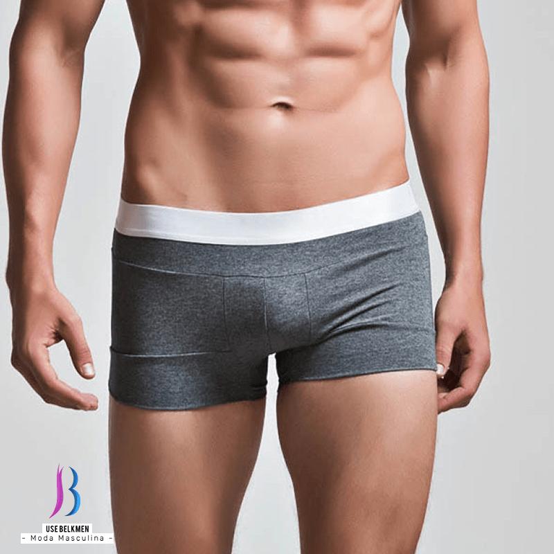 fe09d1a04 ... Belkmen moda masculina Imagem do Cueca de algodão de alta qualidade  Superbody ...